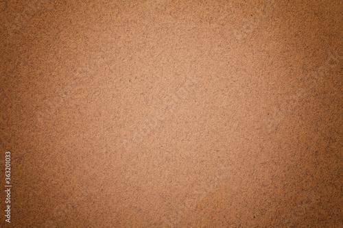 Texture of vintage dark brown paper background with matte vignette Fotobehang