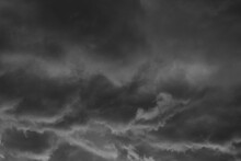 Black And Grey Clouds Before R...