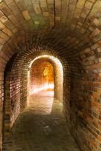Underground Tourist Route In Sandomierz, Poland