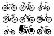 Collection Silhouette Bicycles...