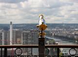 Fototapeta Fototapety Paryż - francja , Paryż , sierpień 2015 , luneta na Wiezy Eiffla
