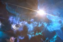 Supernova Explosion In The Uni...