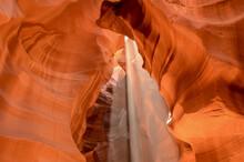 Sandstone At Antelope Canyon