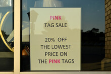 Pink Tag Sale 20% Off The Lowe...