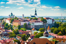 Tallinn, Estonia Historic Skyl...