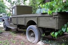 Old Military Truck In Varna Mu...