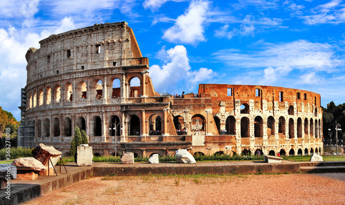 Fototapeta Great Colosseum or Coliseum- Flavian Amphitheatre
