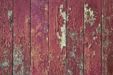 Texture Of An Old Fence Painte...