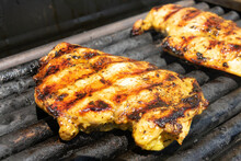 Chicken Fillet On The Grill. G...