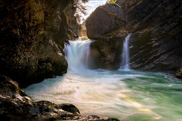 Wasserfall zur Mittagsstunde