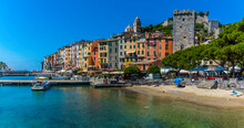 The Beach In Porto Venere, Ita...