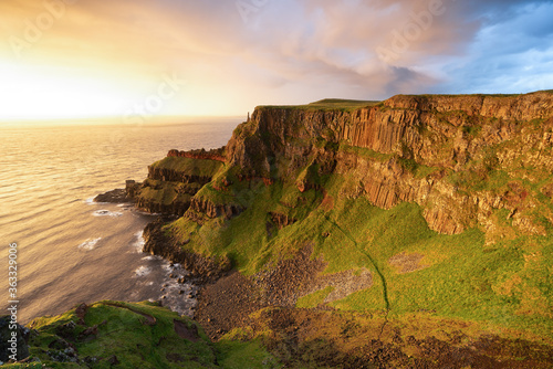 Scenic View Of Sea Against Sky During Sunset Fototapet