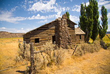 An Abandoned Homestead Home Ne...