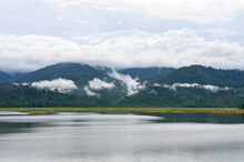 Scenic View Of Lake And Mounta...