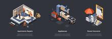 Concept Of Apartments Repairs,...