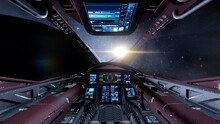 View From The Cockpit Of A Spa...