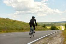 A Professional Cyclist Rides O...