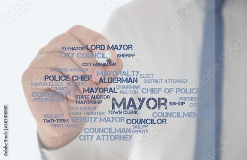 mayor Canvas Print