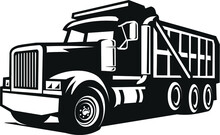 Bold Dump Truck Vector Images