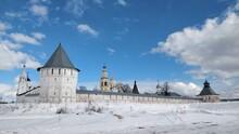 The Wall Of The Spaso-prilutsky Monastery