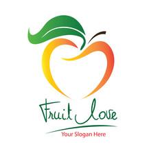 Vector Logo Fruit In Eps 10. S...