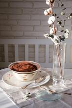 Bowl With Homemade Tiramisu, G...