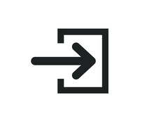 Open Page Sign Icon.  Open Pag...
