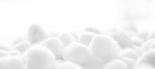 Close-up Of Cotton Balls