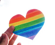 Rainbow Heart, Lgbt Rights Con...