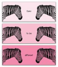 Plains Zebra Triptych Dare To ...