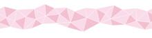 Pink Triangle Shaped Mosaic Ve...
