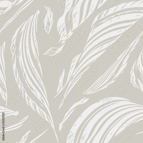 Tapeta beżowa  scribbles-seamless-pattern-abstract-background