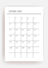 Planner Sheet Vector. Printable Vertical Notebook Page