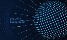 Big Data Concept With Globe An...