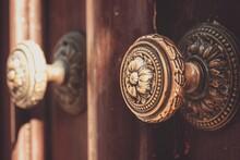 Close-up Of Old Door Knob