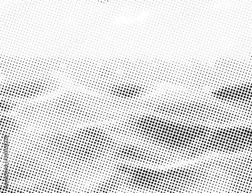 Fototapeta Halftone background Design. Abstract geometric dots background. Vector Halftone for presentation banner, flyer, Cover, Report.  obraz
