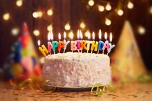Birthday, Cake, Candle, Cupcak...