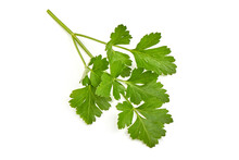 Fresh Parsley, Isolated On A W...