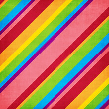 Horizontal Banner Of Colorful ...