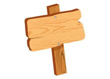 Schlichtes Holzschild Für Eig...