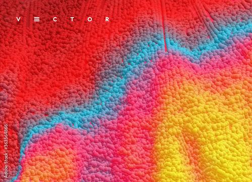 Vászonkép Liquid paint abstraction