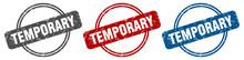 Temporary Stamp. Temporary Sig...