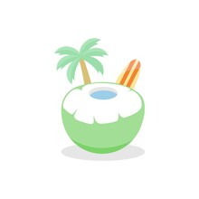 Fresh Coconut Fruit Perfect Fo...