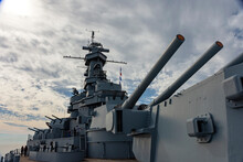 Old Battleship That Is Now A Museum In Alabama