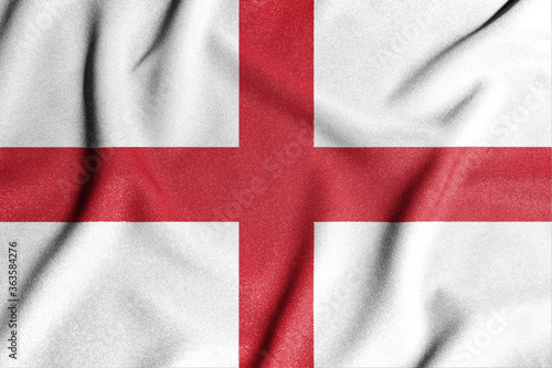 Photo National flag of the England