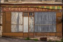 Abandoned Storefront, Argenton...
