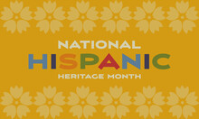 Hispanic Heritage Month Backgr...