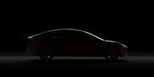3d Render Of Tesla Model 3 Wit...