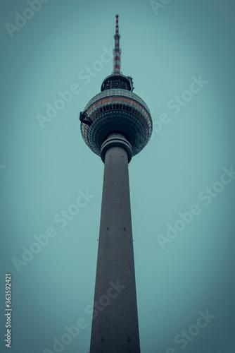 tv tower berlin Wallpaper Mural