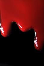 Red Nail Polish Dripping